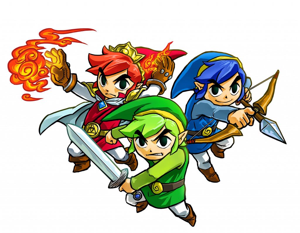 The Legend of Zelda: Tri-Force Heroes Release Date Announced