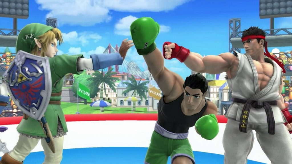 Super Smash Bros – Ryu & Roy Footage shown