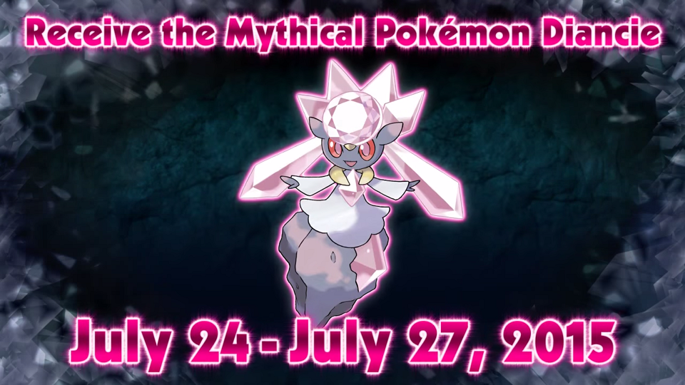 Claim Diancie for a Very Limited Time