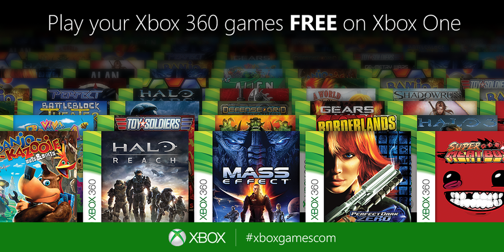 Gamescom: Xbox 360 Games With Gold Will Be Backwards Compatible