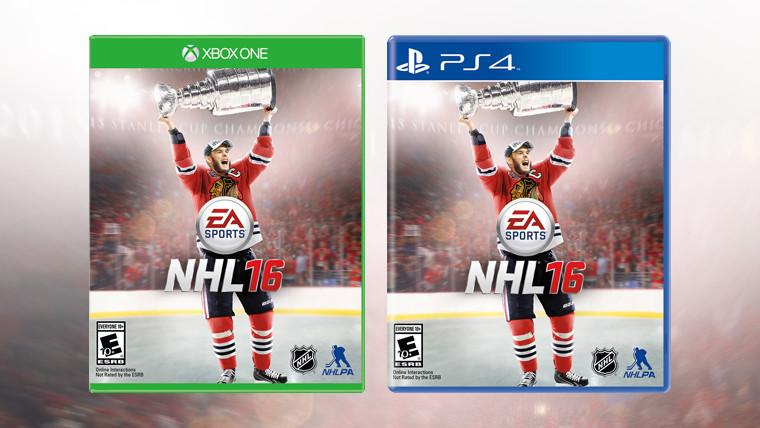 Patrick Kane Removed From NHL 16 Cover-Art