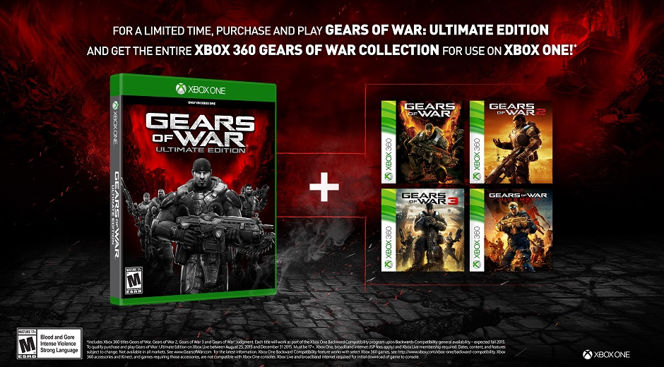 Buy Gears of War: Ultimate Edition, get the Gears Franchise Free