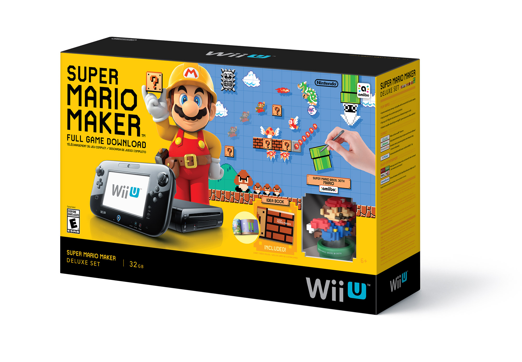 Super Mario Maker WiiU Bundle Announced