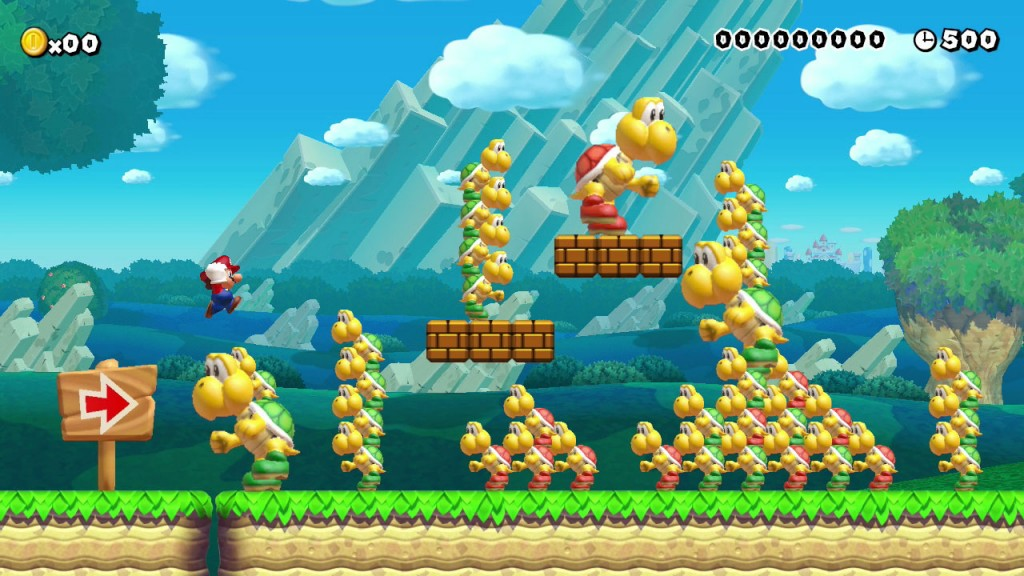 Super Mario Maker Stage Revealed for Super Smash Bros