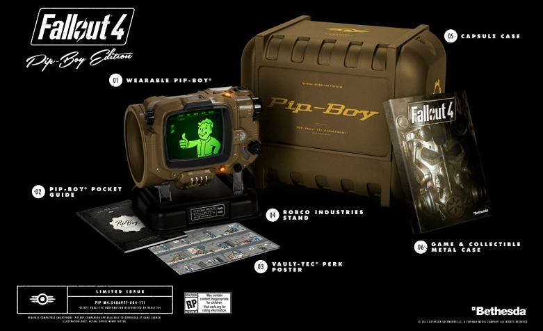 [Update] Fallout 4 Pip-Boy Edition Available Via Bethesda Store