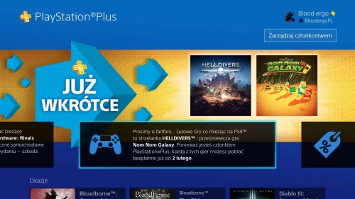 Playstation Plus Free Games Revealed For Playstation 4