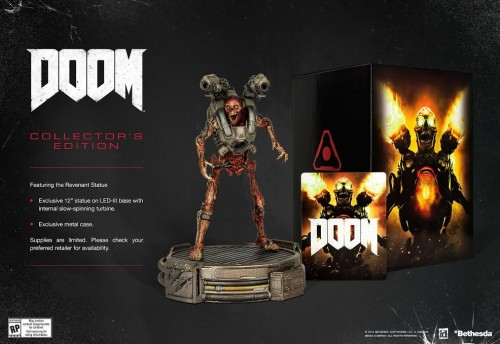 DOOM launches in May; Collector's Edition Announced