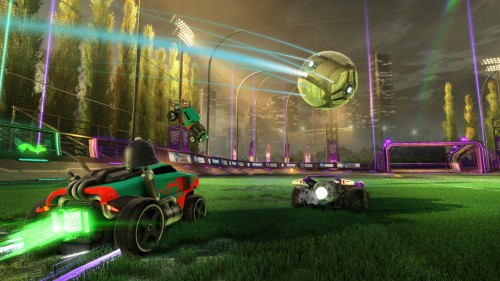 Rocket League Receiving Xbox One X Enhancements