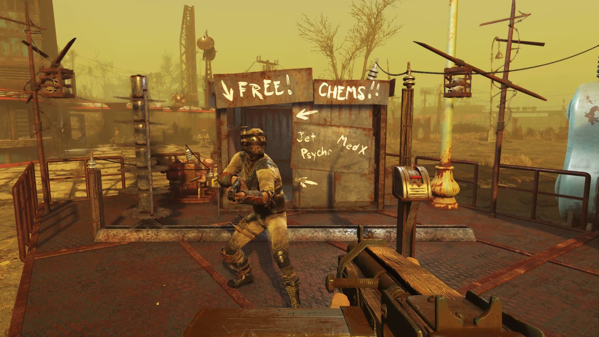 Wasteland Workshop Coming To Fallout 4 On April 12th
