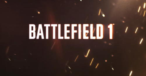 Battlefield 1 Officially Announced; Launching October 21st