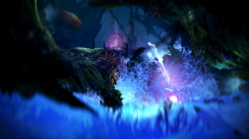 "The beautiful visuals is what makes ""Ori and The Blind Forest"" a unique platformer."