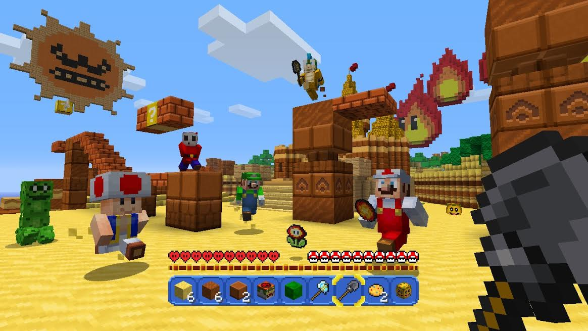 Minecraft Cross-Play Trailer Sticks It To Sony