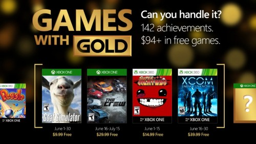 Xbox Live's Games With Gold – June 2016