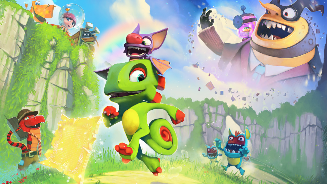 Yooka-Laylee Plot, Villain, Gameplay Details, and More Revealed