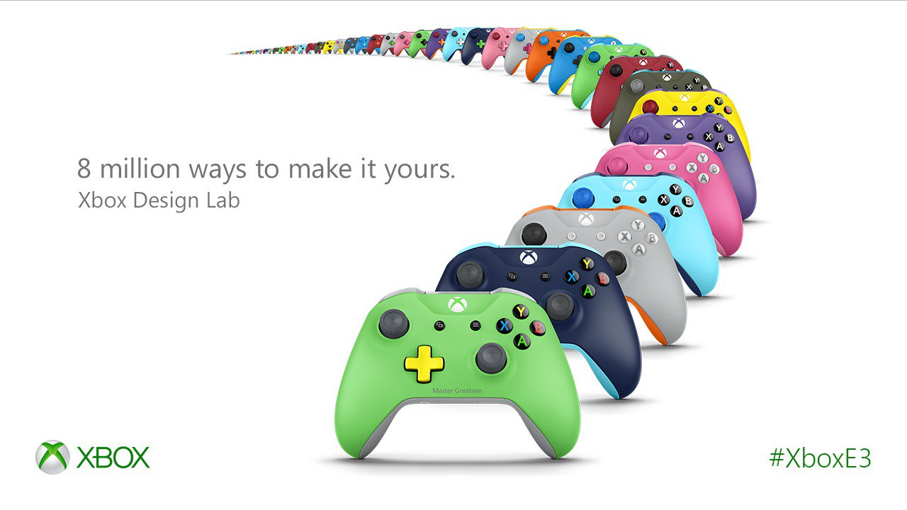 You Can Design a Custom Xbox One S Controller
