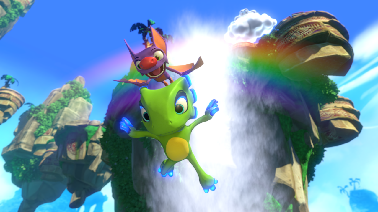 Update: Yooka-Laylee Around 5.1 GB In Download Size