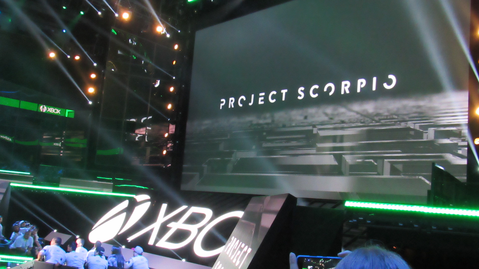 Project Scorpio Teased at E3