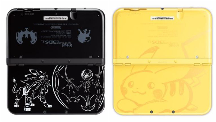 Two Pokemon Themed New Nintendo 3DS XL's Unveiled for Japan