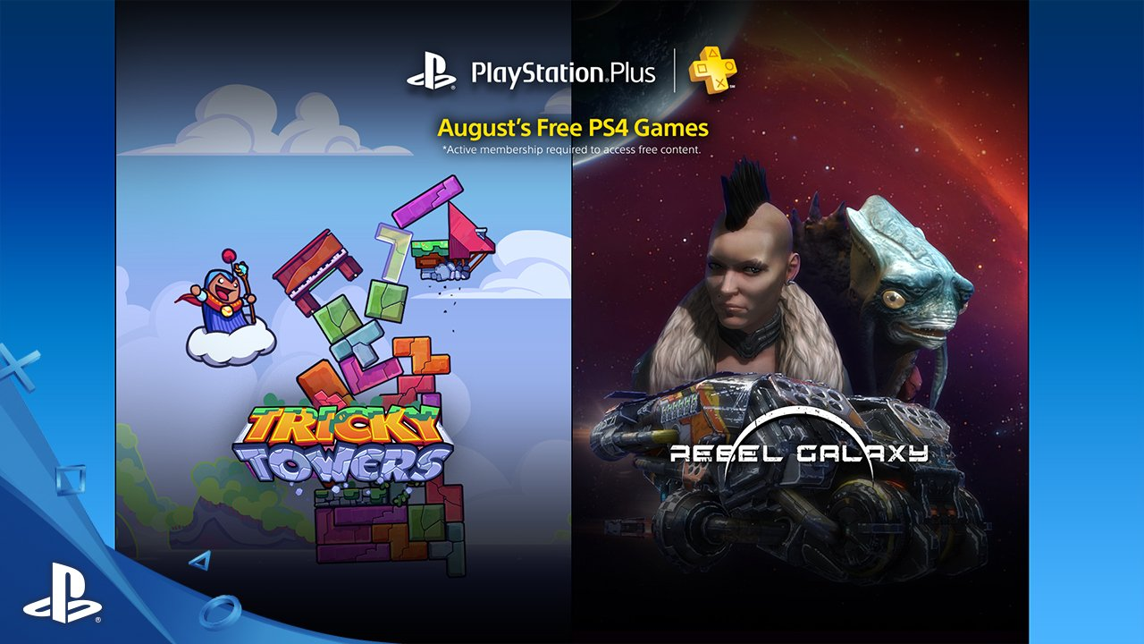 Playstation Plus Free Games – August 2016