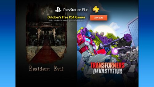 Playstation Plus Free Games – October 2016