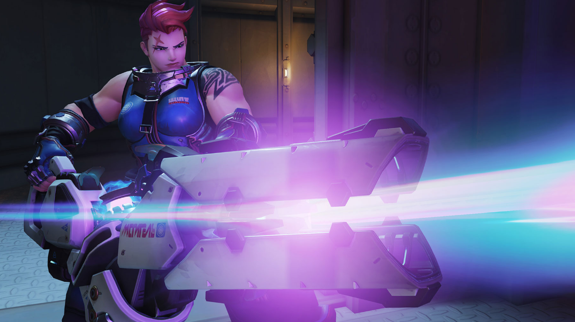 Overwatch's Zarya Joins The Heroes Of The Storm Roster