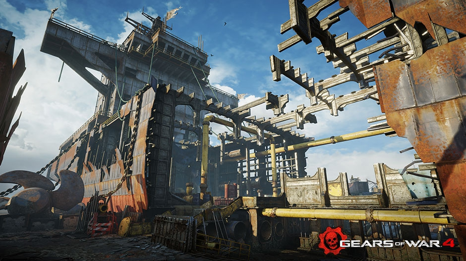 Gears of War 4 Receiving First Downloadable Content On Nov. 1st