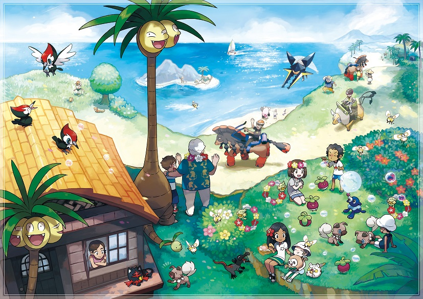 Pokemon Sun/Moon Update: New Pokemon, Alolan Forms Announced