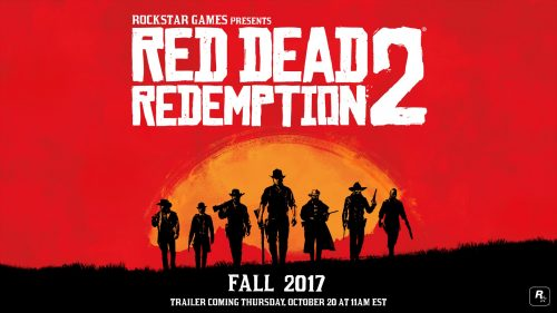 Red Dead Redemption 2 Officially Announced; Trailer Coming Oct. 20th