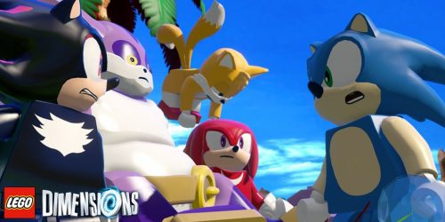 Sonic Characters Join Sonic In Lego Dimensions