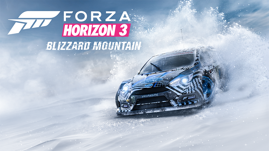 Forza Horizon 3 'Blizzard Mountain Expansion' Coming December 13th