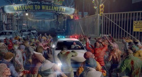 The game's tech allows for a lot of zombies to appear on screen at once, creating an overwhelming experience, especially for new Dead Rising players.