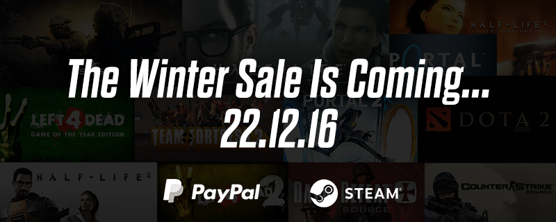 Steam Holiday Sale 2016 Starting December 22nd
