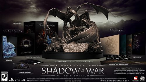 Middle-Earth: Shadow of War Officially Announced; Is Xbox Play Anywhere Title