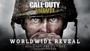 Call of Duty WW2 Shown at Sony's E3 Conference