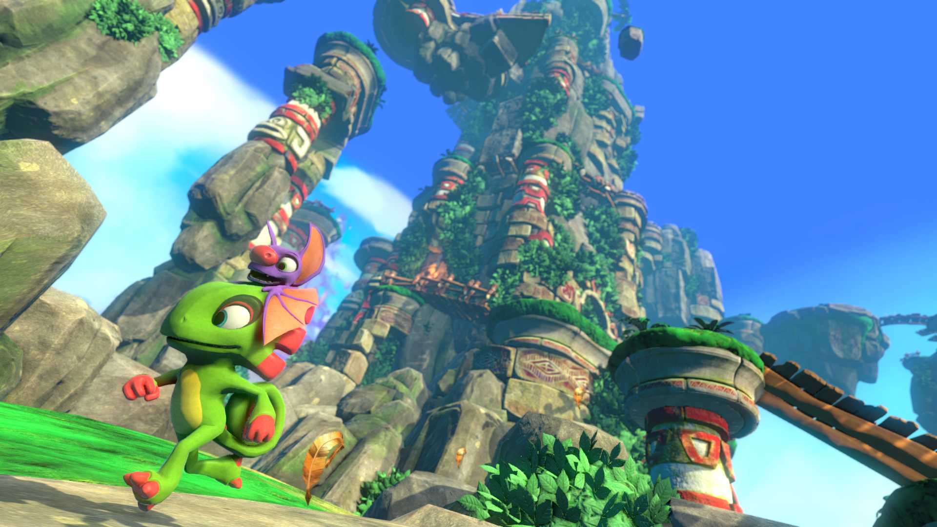 Yooka-Laylee's Credits Take Three Hours To Scroll Through
