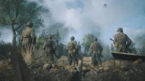 Call of Duty WWII's First Images Released
