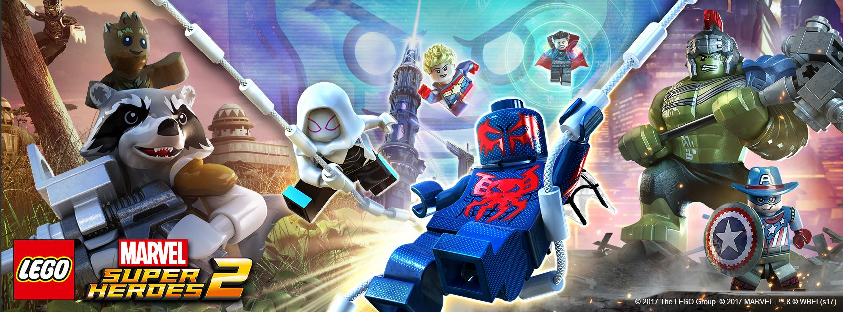 LEGO: Marvel Super Heroes 2 Announced; Features Four-Player Modes