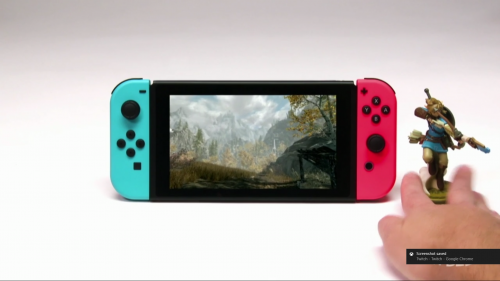 Skyrim For the Nintendo Switch to Allow Amiibo Support