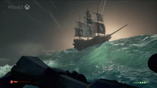 First Sea of Thieves Footage Revealed