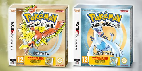 Pokemon Gold & Pokemon Silver Boxed 3DS Versions Announced For EU, JP