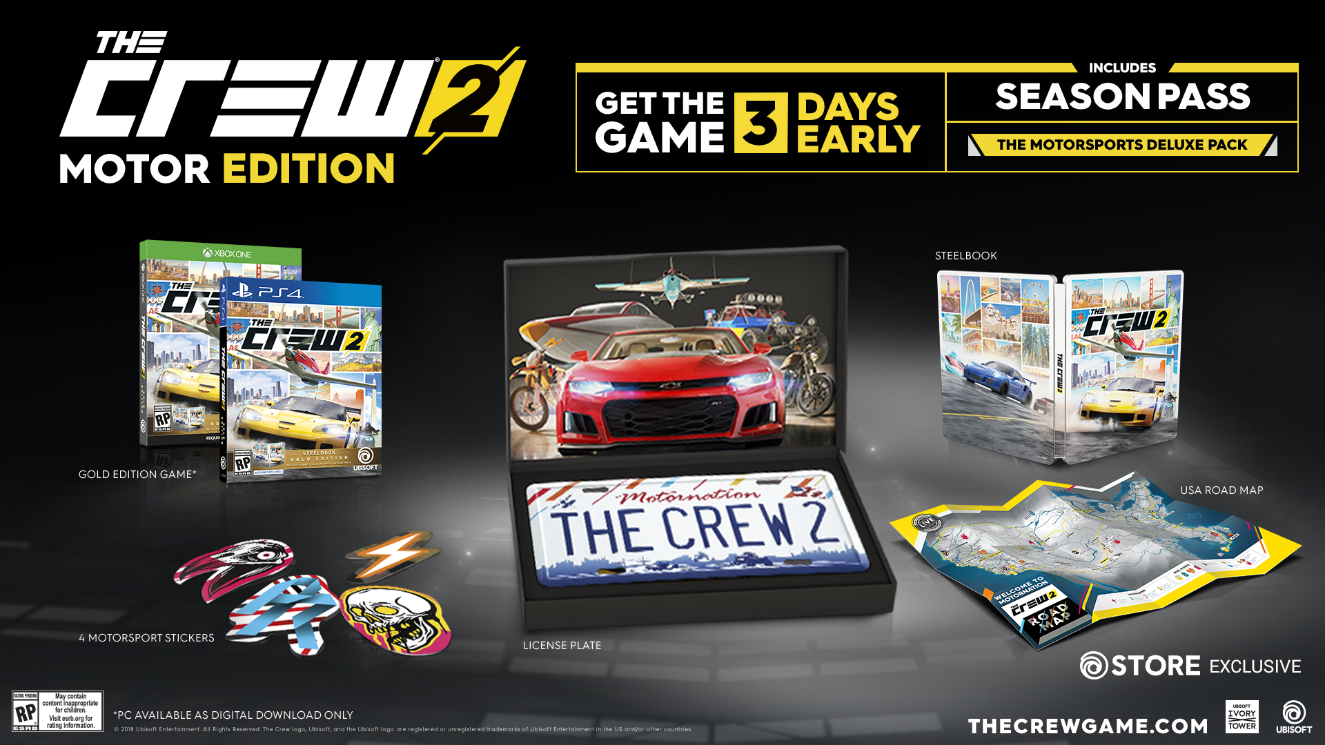 The Crew 2 Roars Onto PC, Xbox One and PlayStation 4 June 29