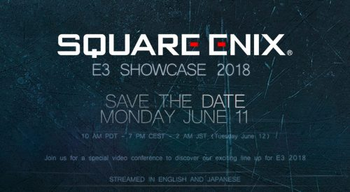 Square Enix Set For E3 2018 Announcements