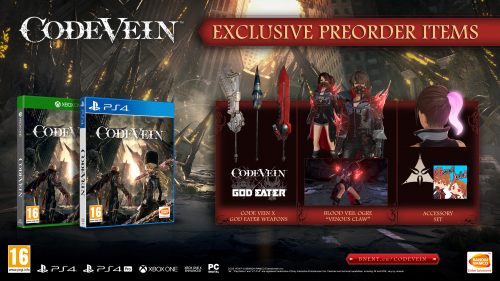 Code Vein Release Date And Collectors Edition Revealed