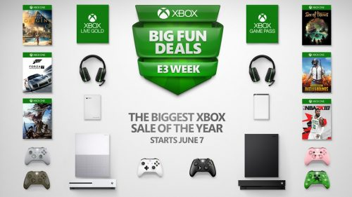 """Biggest Xbox Sale of the Year"" Starting June 7th; Xbox One X Discounted"