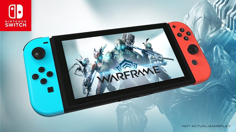 Warframe Is Coming To The Nintendo Switch