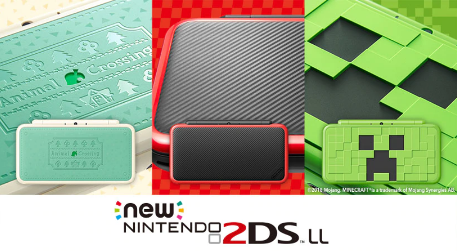 Three New Nintendo 2DS XL's Announced For Japan