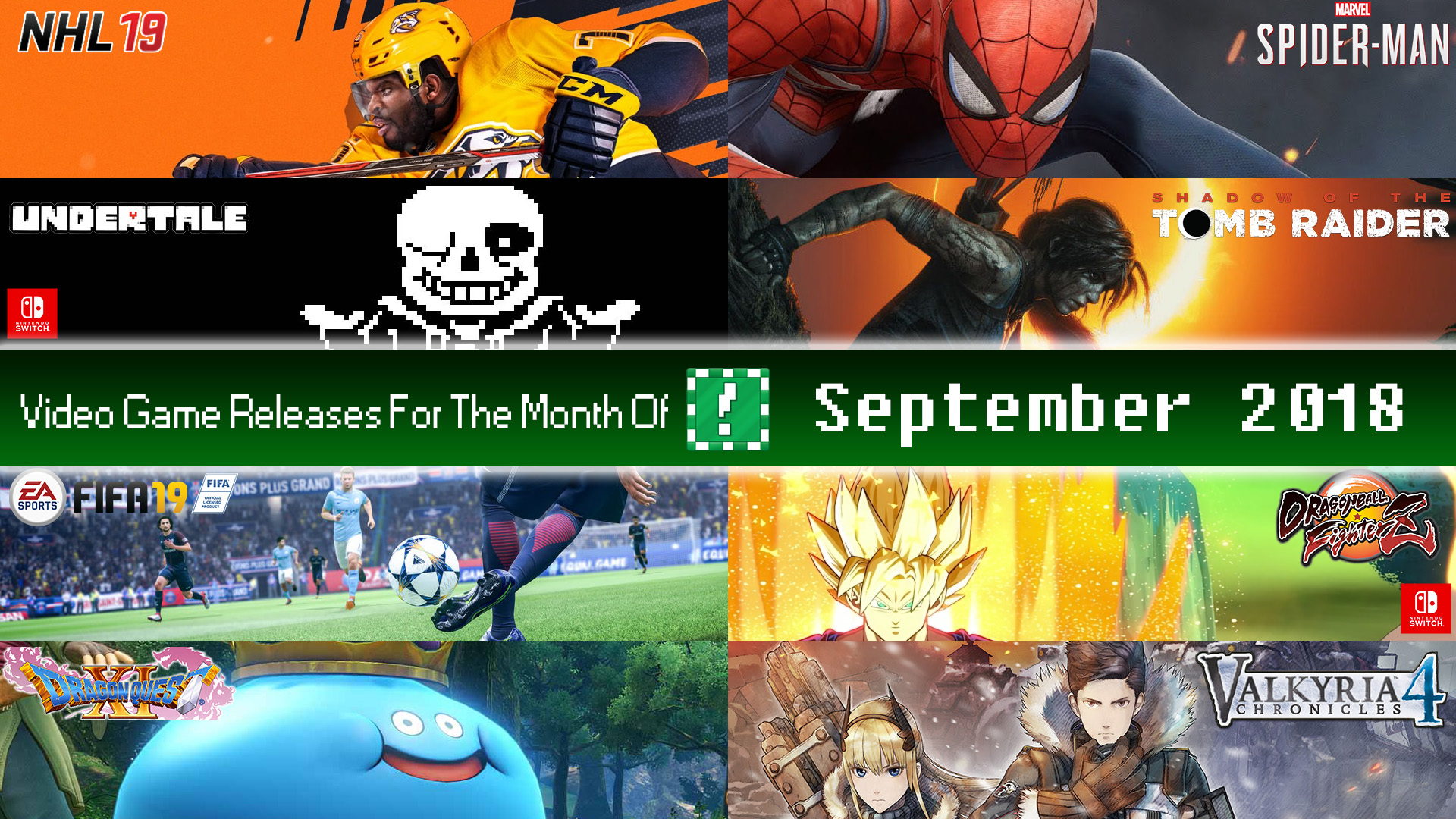 Com Games 2018 Dates : Video game release dates for september informed pixel