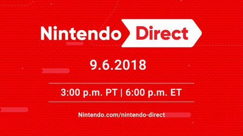 Update: Nintendo Direct Confirmed Announced For Sept. 6th, Delayed