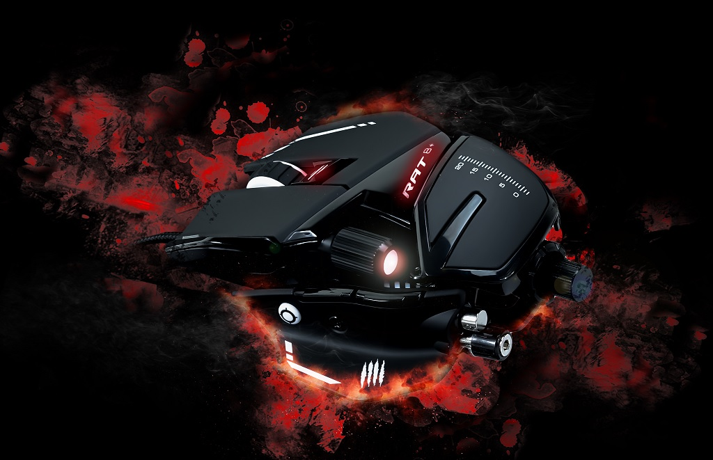 "Mad Catz' Announces New R.A.T. Gaming Mice; Coming To North America ""Shortly"""