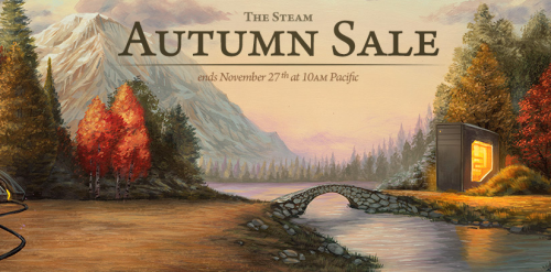 The Massive Steam Autumn Sale Has Begun